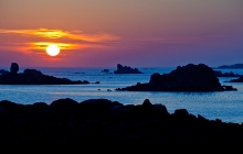 Perharidy sunset