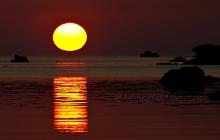 Coucher de soleil à Perharidy