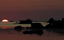 Perharidy - Le coucher du soleil