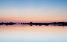 Les reflets de l'Ile de Batz