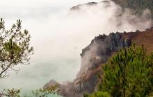 Au dessus du brouillard à Saint-Hernot. Un moment magique et rare