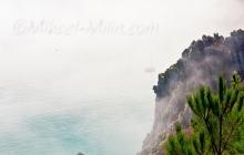 Séquence brouillard à Saint-Hernot. Un moment magique et rare