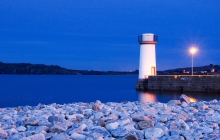 Le phare sans tête de Camaret