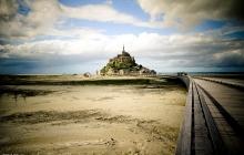 Mont-Saint-Michel, la nouvelle passerelle