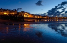 Saint-Malo  -- Plage du Sillon