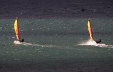 Course de vitesse à Saint-Malo